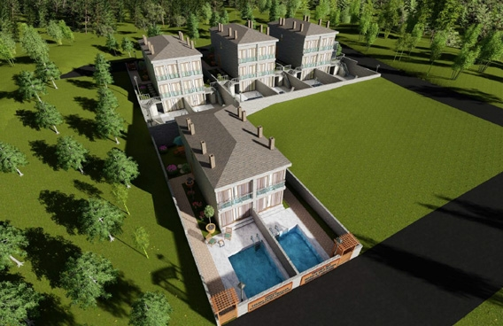 İzmir Çeşme Termal Villalar Projesi